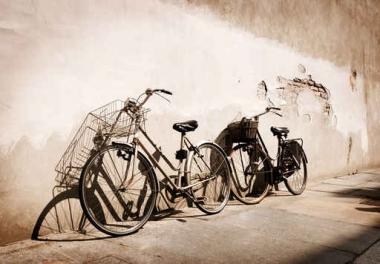 Fototapety ULICZKI rowery 5241