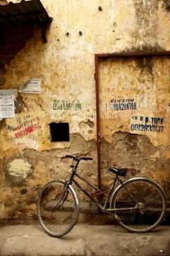 Fototapety ULICZKI rowery 5242