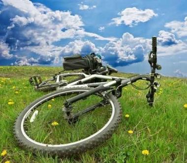 Fototapety ULICZKI rowery 5245