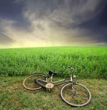 Fototapety ULICZKI rowery 5247