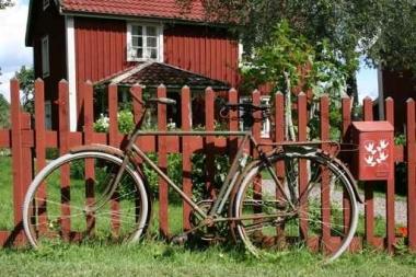 Fototapety ULICZKI rowery 5248