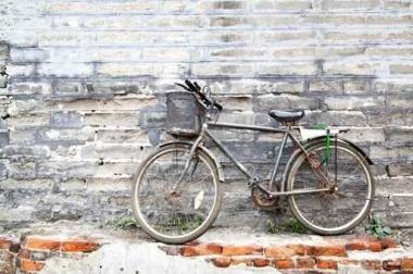 Fototapety ULICZKI rowery 5249