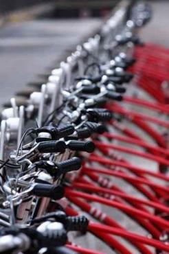 Fototapety ULICZKI rowery 5250