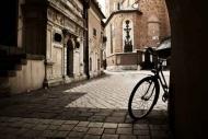 Fototapety ULICZKI rowery 5251 mini
