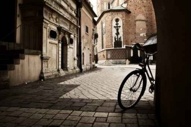Fototapety ULICZKI rowery 5251