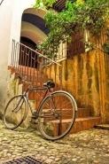 Fototapety ULICZKI rowery 5252 mini