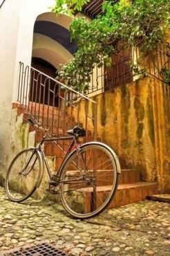 Fototapety ULICZKI rowery 5252