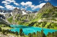 Fototapety PEJZAŻ WODNY góry i doliny 5263 mini