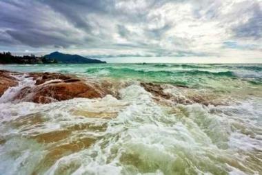 Fototapety PEJZAŻ WODNY morska bryza 5331
