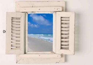 Fototapety PEJZAŻ przez okno 5572