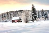 Fototapety PEJZAŻ zima 5592 mini