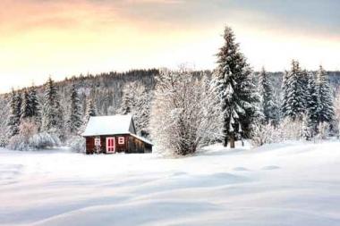 Fototapety PEJZAŻ zima 5592