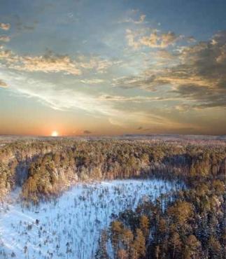 Fototapety PEJZAŻ zima 5601