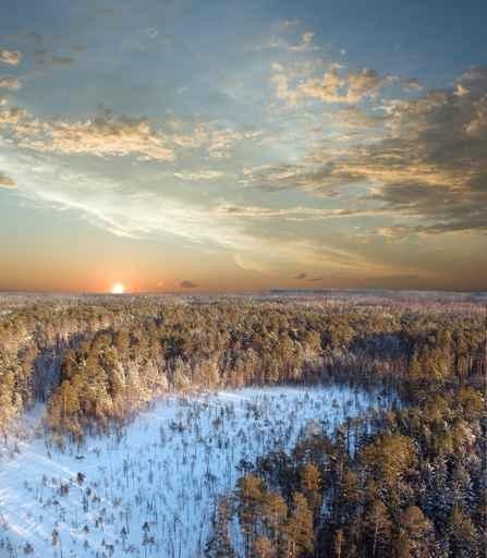 Fototapety PEJZAŻ zima 5601-big