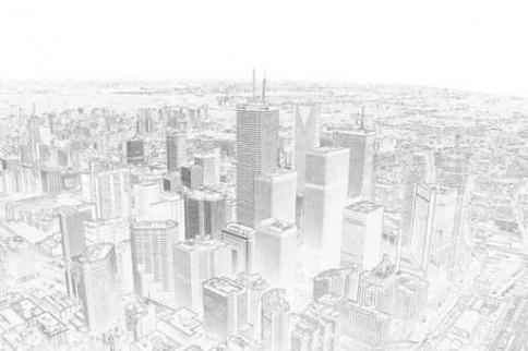 Fototapety PEJZAŻ MIEJSKI drapacze chmur 5828-big