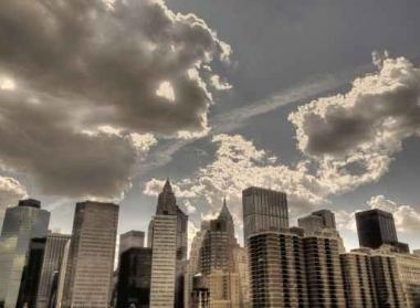 Fototapety PEJZAŻ MIEJSKI drapacze chmur 5857