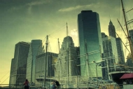 Fototapety PEJZAŻ MIEJSKI drapacze chmur 5872 mini