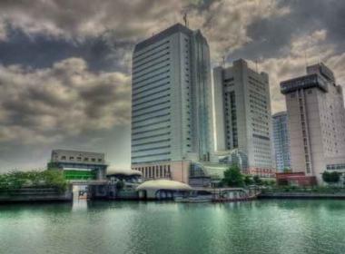 Fototapety PEJZAŻ MIEJSKI drapacze chmur 5877