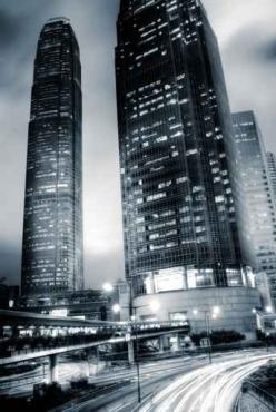Fototapety PEJZAŻ MIEJSKI drapacze chmur 5879