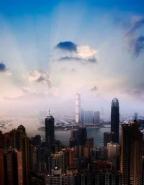 Fototapety PEJZAŻ MIEJSKI drapacze chmur 5880 mini