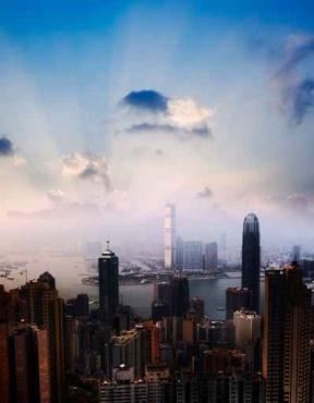 Fototapety PEJZAŻ MIEJSKI drapacze chmur 5880