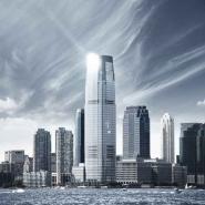 Fototapety PEJZAŻ MIEJSKI drapacze chmur 5895 mini