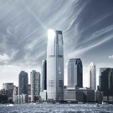 Fototapety PEJZAŻ MIEJSKI drapacze chmur 5895