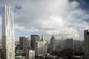 Fototapety PEJZAŻ MIEJSKI drapacze chmur 5907