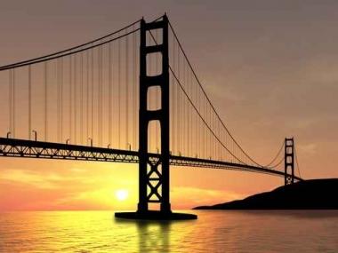 Fototapety PEJZAŻ MIEJSKI mosty 6090