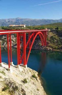 Fototapety PEJZAŻ MIEJSKI mosty 6100