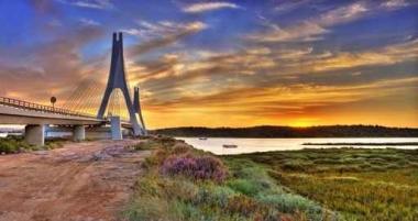 Fototapety PEJZAŻ MIEJSKI mosty 6112