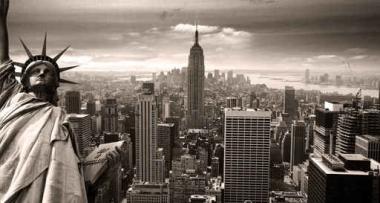 Fototapety PEJZAŻ MIEJSKI new york 6195