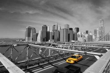 Fototapety PEJZAŻ MIEJSKI taxi 6230