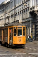 Fototapety PEJZAŻ MIEJSKI tramwaje 6236 mini
