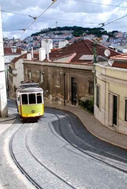 Fototapety PEJZAŻ MIEJSKI tramwaje 6237