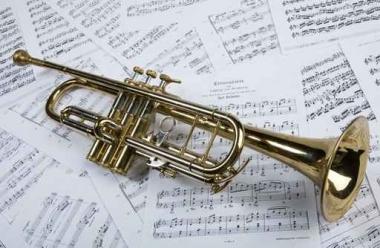 Fototapety MUZYKA instrumenty 6453