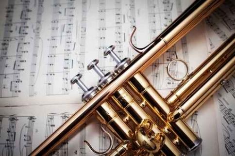 Fototapety MUZYKA instrumenty 6464-big