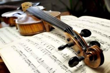 Fototapety MUZYKA instrumenty 6473