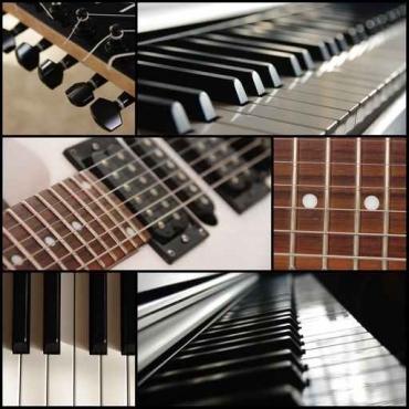 Fototapety MUZYKA instrumenty 6494