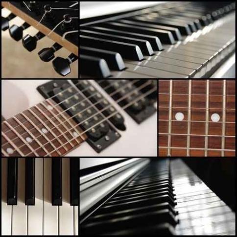 Fototapety MUZYKA instrumenty 6494-big