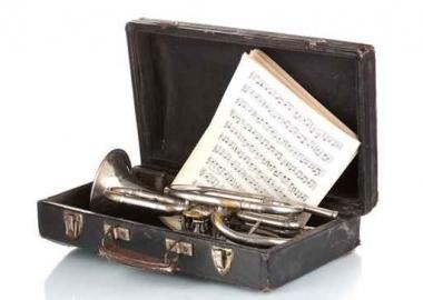 Fototapety MUZYKA instrumenty 6499
