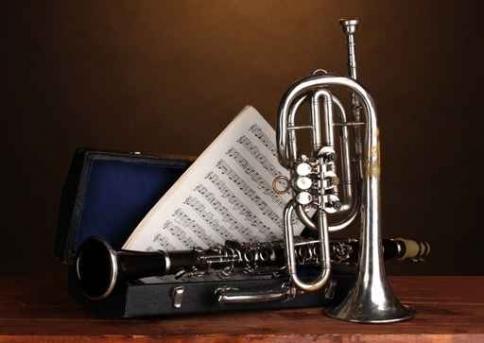 Fototapety MUZYKA instrumenty 6500-big