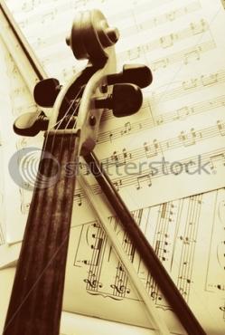 Fototapety MUZYKA instrumenty 6503