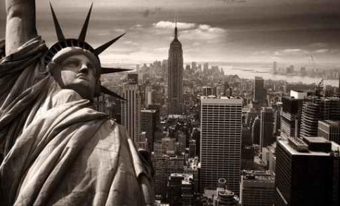 Fototapety PEJZAŻ MIEJSKI new york 7084-big