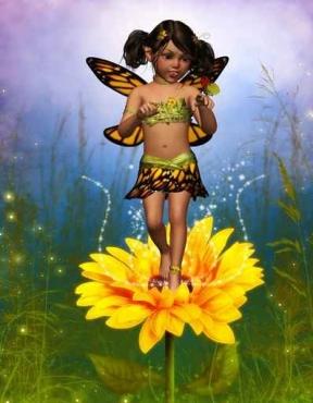 Fototapety DLA DZIECI dla dziewczynki 7636