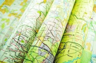 Fototapety KOSMOS mapy 7747