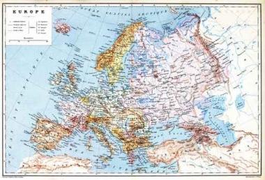 Fototapety KOSMOS mapy 7748