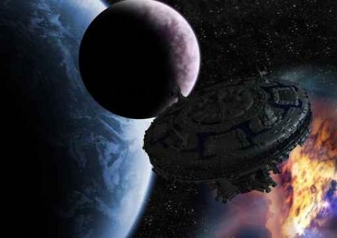 Fototapety KOSMOS planety 7750-big