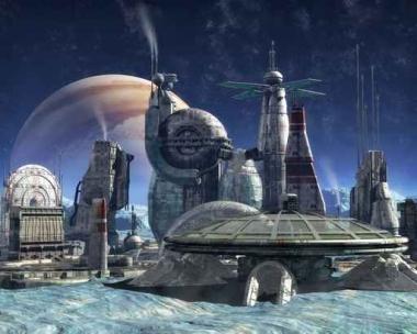 Fototapety KOSMOS planety 7752