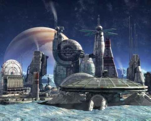 Fototapety KOSMOS planety 7752-big